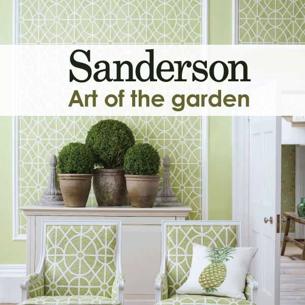 Новая коллекция ART OF THE GARDEN от Sanderson