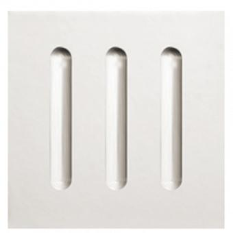 WHABF/8080, Architrave Block Fluted T=25mm, W=80mm, H=80mm, William Howard